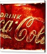 Antique Soda Cooler 2a Acrylic Print