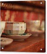 Antique Teacups Acrylic Print