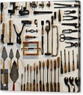 Antique Tools Acrylic Print