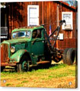 Antique Tow Truck Acrylic Print