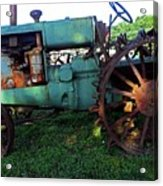 Antique Tractor 1 Acrylic Print