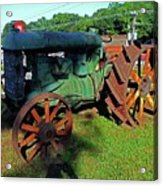 Antique Tractor 3 Acrylic Print