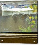 Antique Window - Amsterdam Acrylic Print
