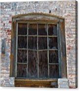Antique Window Acrylic Print