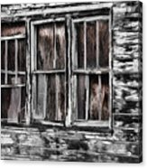 Antique Windows Acrylic Print