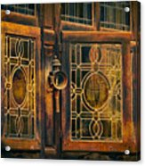 Antique Windows Acrylic Print