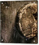 Antique Wine Barrel Cork Acrylic Print