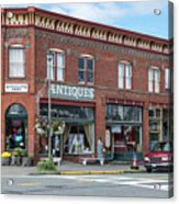 Antiques In Red Brick Acrylic Print