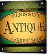 Antiques Acrylic Print