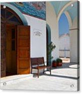 antirrio church 'I Acrylic Print