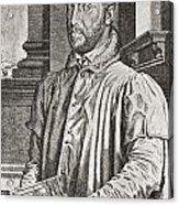 Antoine Perrenot De Granvelle, 1517 To Acrylic Print