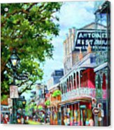 Antoine's Acrylic Print by Dianne Parks