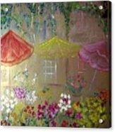 Antoinette's Flowers Acrylic Print