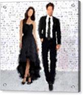 Antonia And Giovanni Acrylic Print by Nancy Levan