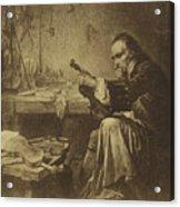 Antonio Stradivari Acrylic Print