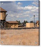 Antonito Colorado Tank And Station Acrylic Print