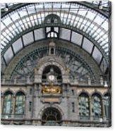 Antwerp Train Acrylic Print