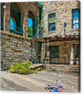 Anyone Lived In A Pretty How Town Acrylic Print