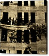Anzac Pictures Projected In Martin Place 20 Acrylic Print