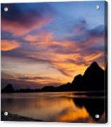 Ao Manao Sunrise Acrylic Print