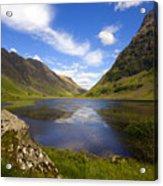 Aonach Eagach Ridge Glencoe Acrylic Print