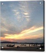 Aonang Sunset Acrylic Print