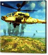 Apache Ai Assault - Operation Desert Wolves Acrylic Print