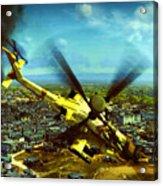 Apache Ai Assault - Operation Osama Acrylic Print