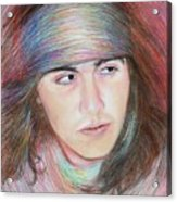 Apache Boy Acrylic Print