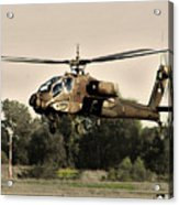 Apache Helicopter Acrylic Print
