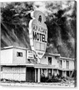 Apache Motel Tucumcari Acrylic Print