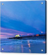 Apache Pier At Sunrise Acrylic Print