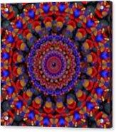 Apache  Acrylic Print
