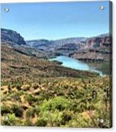 Apache Trail - Salt River - Arizona Acrylic Print