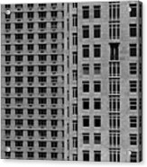 Apartment Buildings As Seen From 59th Street Acrylic Print