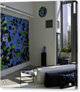 Apartment In Dumbo Acrylic Print