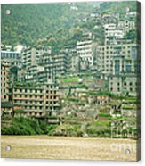 Apartments, China Acrylic Print