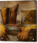 Apiary - The Beekeeper  Acrylic Print