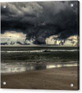 Apocalyptic Clouds Over The Atlantic Acrylic Print