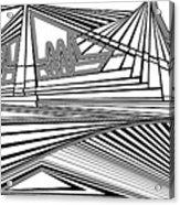 Apocalyptic Ringside View Acrylic Print