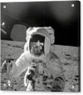 Apollo 12 Moonwalk Acrylic Print