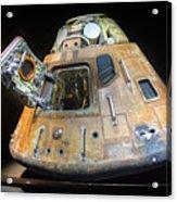 Apollo 14 Command Module Kitty Hawk Acrylic Print