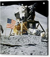 Apollo 15: Jim Irwin, 1971 Acrylic Print