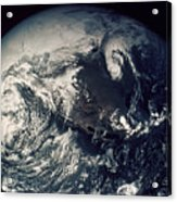Apollo 16: Earth Acrylic Print