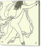 Apollo Pursuing Daphne Acrylic Print