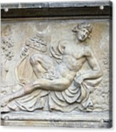 Apollo Relief In Gdansk Acrylic Print