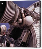 Apollo Rocket Engine Acrylic Print
