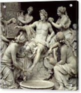 Apollo Tended By The Nymphs, Intended For The Grotto Of Thetis Acrylic Print