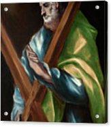 Apostle Saint Andrew Acrylic Print