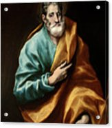 Apostle Saint Peter Acrylic Print